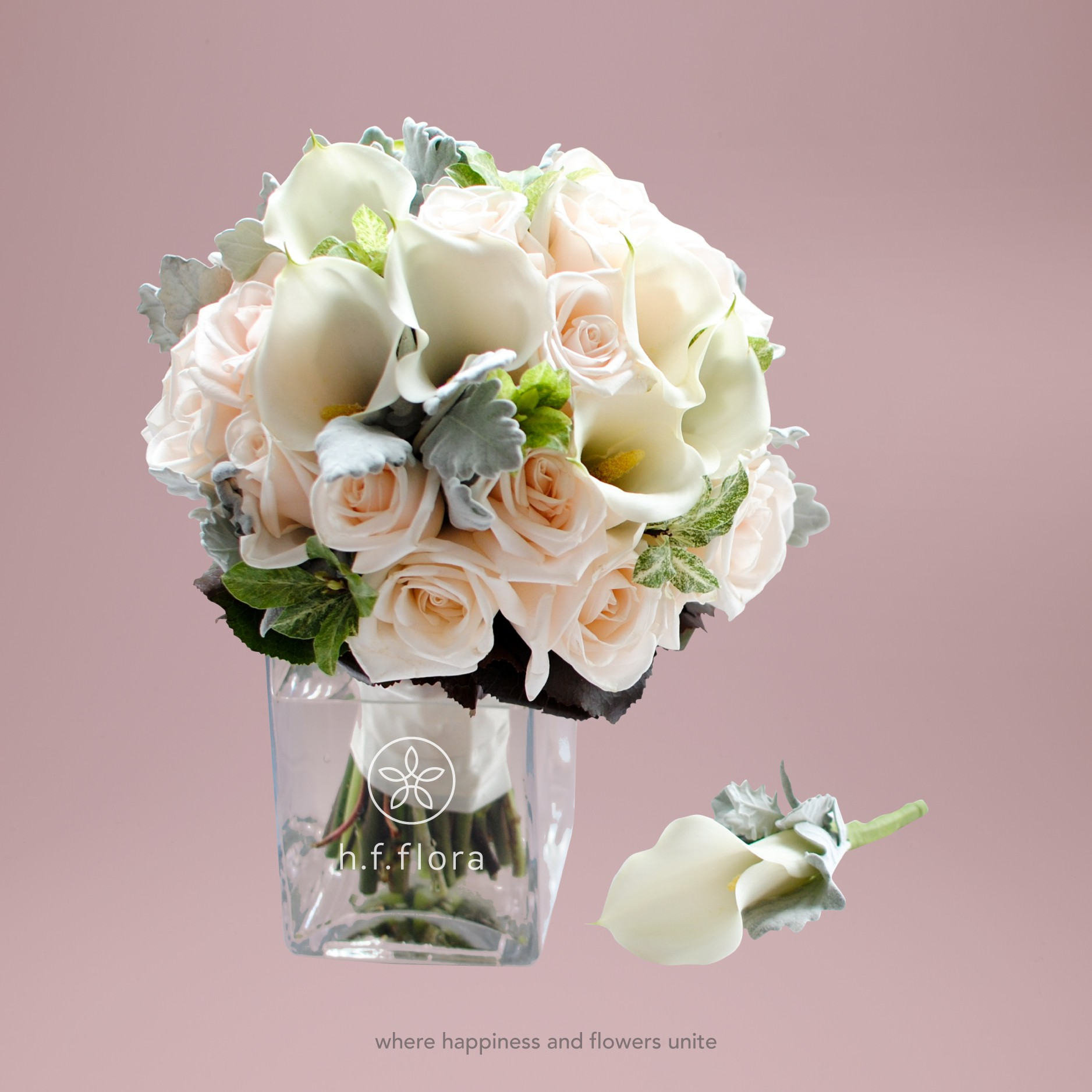 Rose and calla lily bridal bouquet weddings rose and calla lily izmirmasajfo